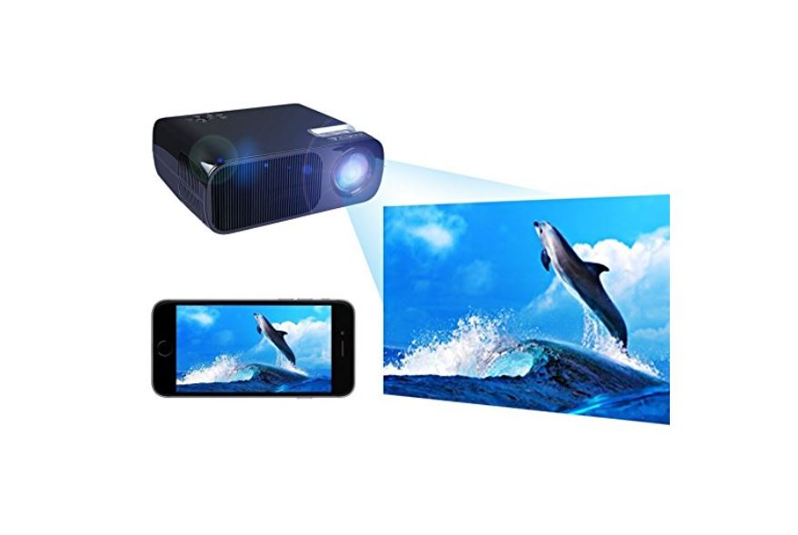 Best hd projector 2018 top 10 guide expert reviews for Best palm projector 2016
